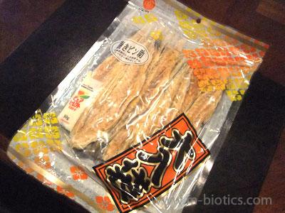 母が買ってきてくれた「開きピン助」(ポンタラ)が美味しい【北海道産スケソウダラ使用】
