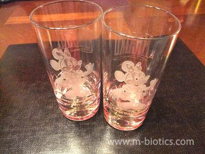 16年間未使用のディズニーランド土産グラスを使う