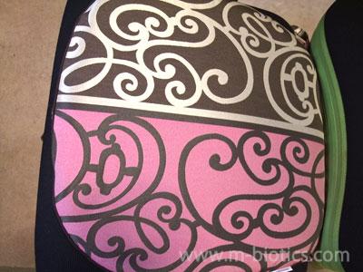 デパート(西武百貨店)で買った座布団がネットで安く売られていた