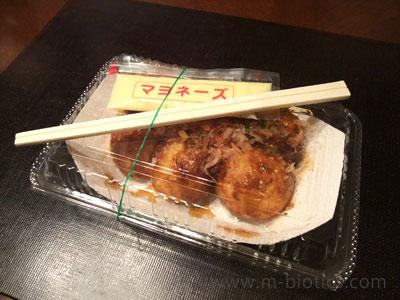 市販のたこ焼きを少しでも健康的に食べる工夫~添付のものではなく有精卵マヨネーズを使う
