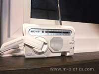 ラジオで野球の実況中継を聞きたい!~ソニーの防災ラジオが役立った