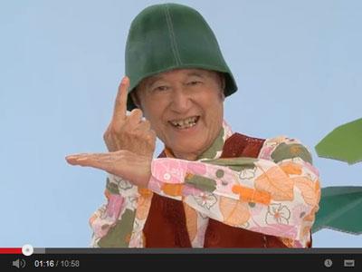 ノッポさんにつられてゲームソフトTearaway(テラウェイ)の宣伝動画を見る