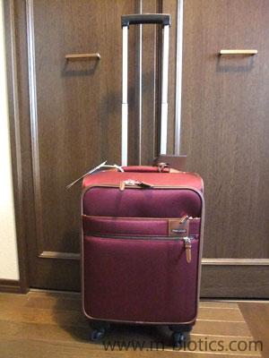 旅行用にキャリーバッグ(プロテカのソリエ)を買った~キャスターストッパー付き日本製
