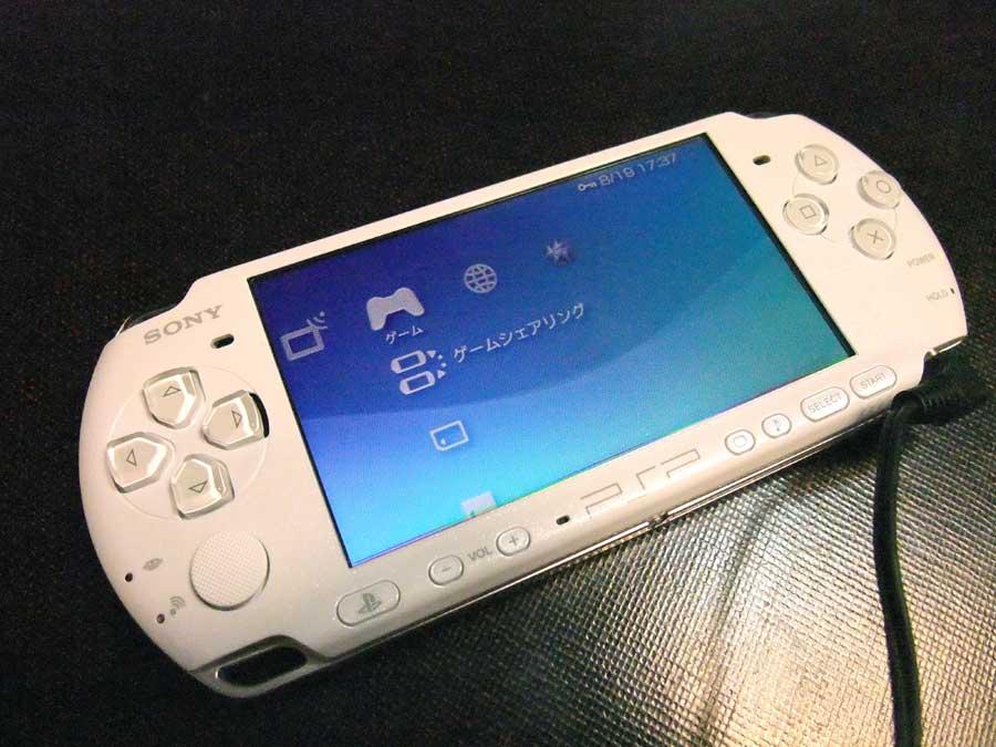 PSP(携帯型ゲーム機)の国内向け出荷が完了~進化についていけない
