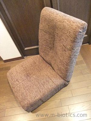 ポケットコイル入り座椅子購入~映画館の椅子のような座り心地【母の座椅子3】