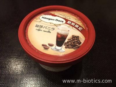 ハーゲンダッツ「珈琲バニラ」は、コーヒー部分がもっと苦くても良い