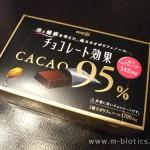チョコレート効果 カカオ95