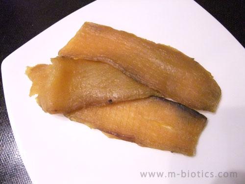 北海道産の有機JAS認定「干し芋」(紅はるか)が、甘くて柔らかくて美味しい