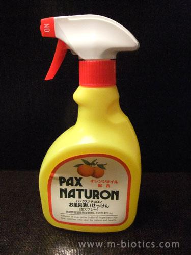 パックスナチュロンの「お風呂洗い石けん」は、汚れ落ち良く泡切れも良く香りも良い