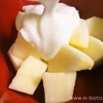 りんご ヨーグルト