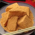 ネットで見つけたわらび餅の原材料が色々と面白い~糖類のオンパレード