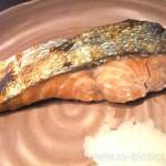 生鮭 塩焼き
