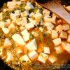 豆板醤(国産原料使用)を麻婆豆腐に入れてみたらピリ辛美味しい