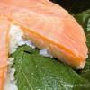 【26】帰宅して、夕飯に金沢土産の「特選ますのすし」を食べる