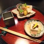 【8】あらや滔々庵の夕食(その1)~加賀の地物豊富な懐石料理