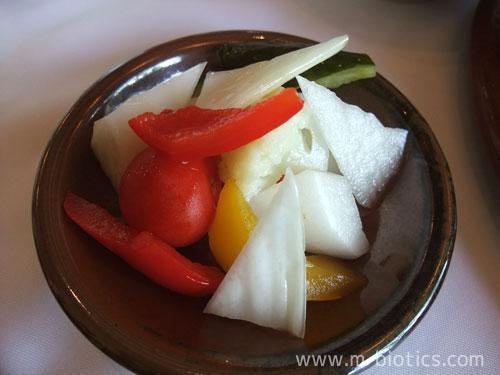 富良野六花山荘7月十勝風カツレツ、てっぽう汁