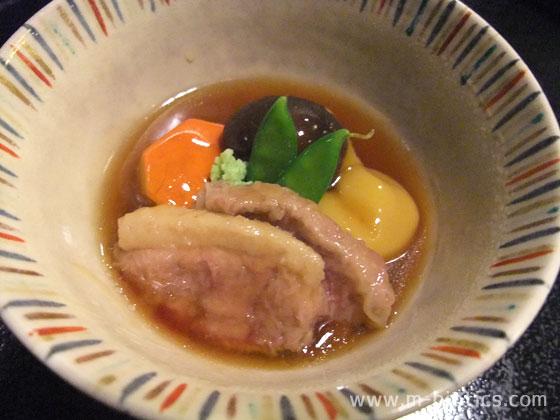 ホテル日航金沢 弁慶 夕食