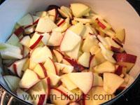 りんごジャムレシピ-マクロビオティック料理