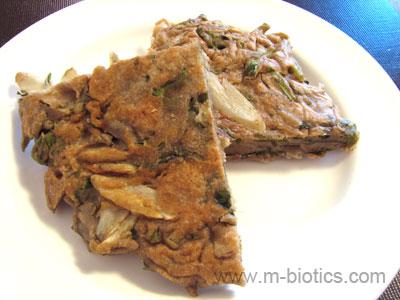 そば粉のおやき(そばパン) マクロビオティック料理
