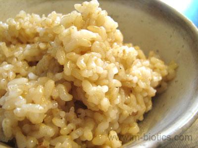 パワーアップ乾煎り玄米ご飯 マクロビオティック料理