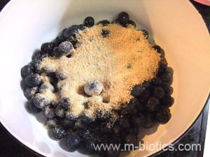 ブルーベリージャムレシピ マクロビオティック料理レシピ