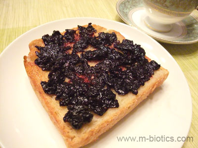 ブルーベリージャム マクロビオティック料理レシピ
