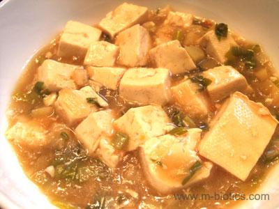 王道の麻婆豆腐 マクロビオティック料理