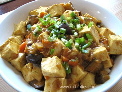 カレー味噌麻婆豆腐 マクロビオティック料理