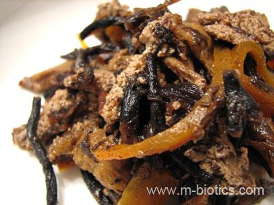 ひじきの煮物 マクロビオティック料理