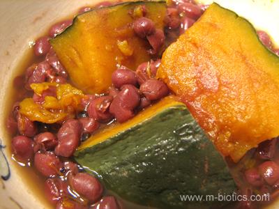小豆かぼちゃ マクロビオティック料理