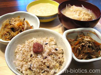 マクロビオティック食事