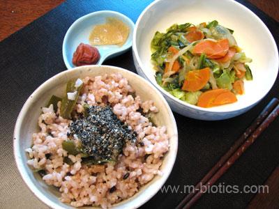 マクロビオティック第一期食