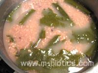圧力鍋(スーパー活力なべ)で炊いた失敗玄米(一時間加圧)