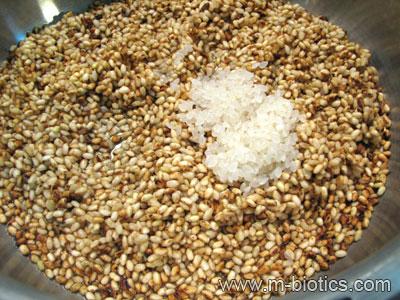 乾煎り玄米