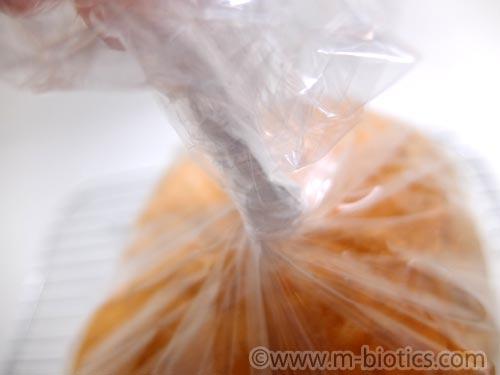 ホームベーカリー 食パン 保存 袋