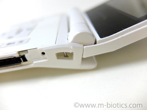 ガラケー 携帯 壊れた 破損 アロンアルファ 接着剤 修理