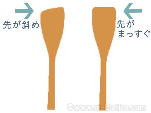 木べら 日本製 さくら ウレタン塗装無し 白木 無塗装