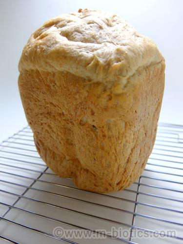 有機全粒粉 食パン レシピ