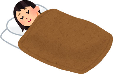 ニトリの毛布