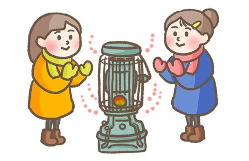 寒さ対策 電気ストーブ