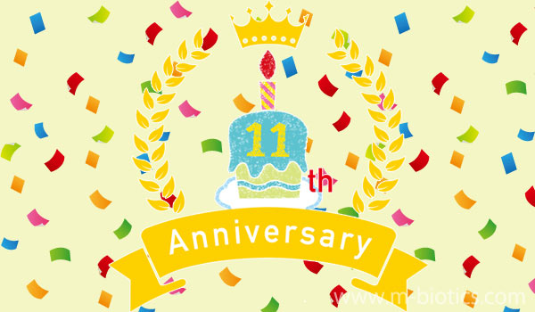 サイト開設11周年記念