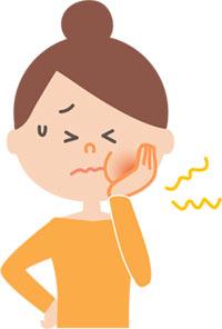 歯医者 治療 口の中が痛い 豆腐
