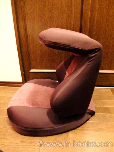 座椅子 エクスジェル ハグ床座  HUY02-BRレビュー