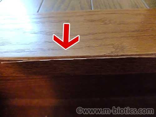 階段 木 剥がれ 修理 接着剤 ウフマックスリペア ポリマー