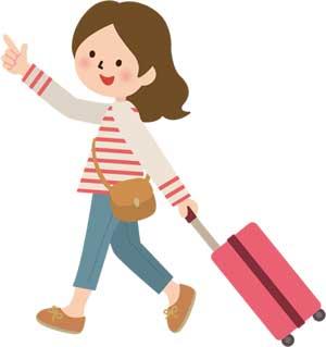 旅行にキャリーバッグ スーツケース 買いたい