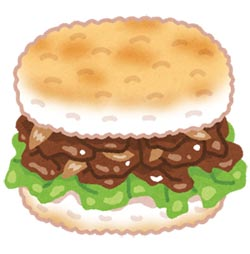 焼肉ライスバーガー