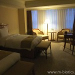 【5】名古屋マリオットアソシアホテルの部屋~無料の飲み物が充実、アメニティも豊富で嬉しい