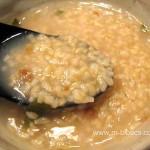 大根おろしと梅干しの玄米粥