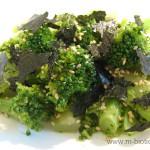 ブロッコリーと海苔のナムル