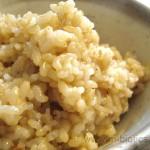 パワーアップ乾煎り玄米ご飯